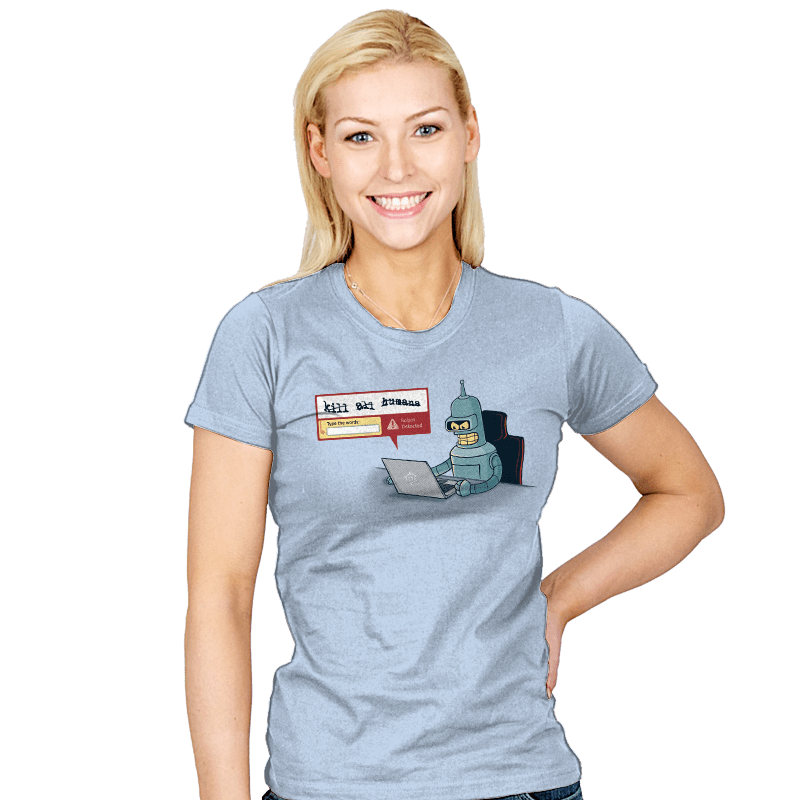 Robot Detector - Womens - T-Shirts - RIPT Apparel