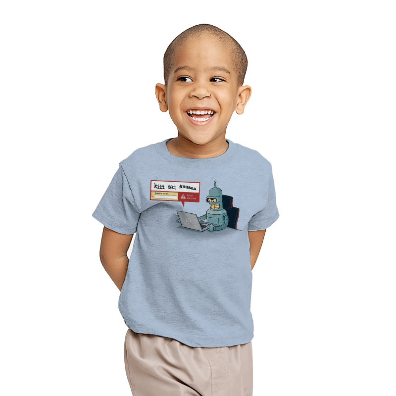 Robot Detector - Youth - T-Shirts - RIPT Apparel