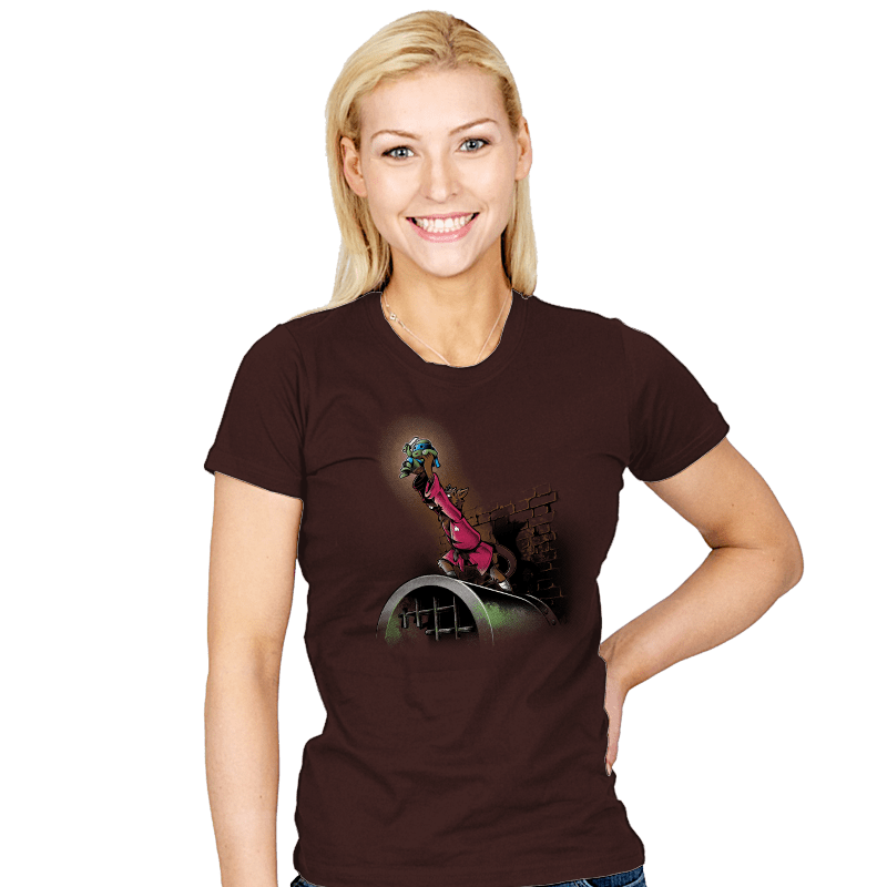 The Turtle King - Womens - T-Shirts - RIPT Apparel