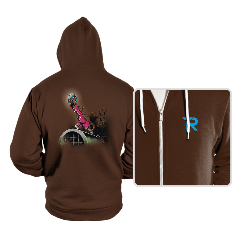 The Turtle King - Hoodies - Hoodies - RIPT Apparel