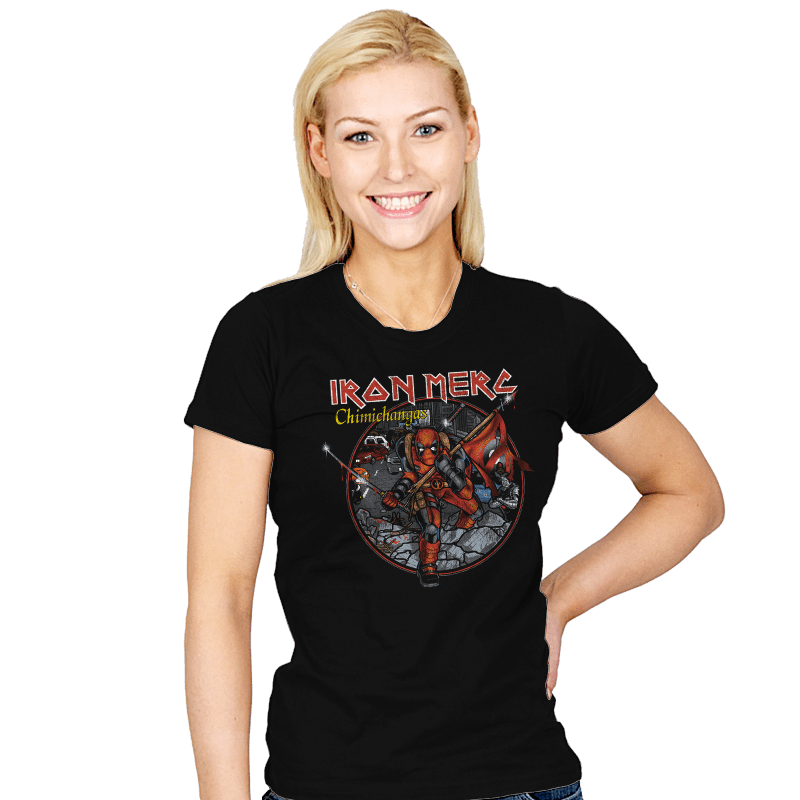 Iron Merc - Womens - T-Shirts - RIPT Apparel