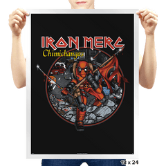 Iron Merc - Prints - Posters - RIPT Apparel