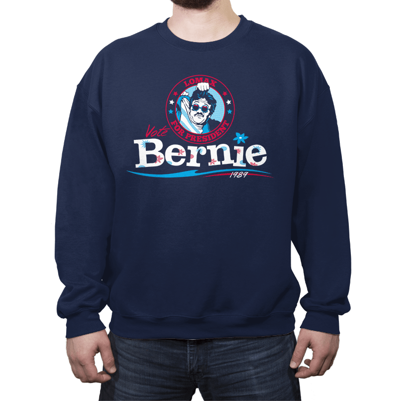 Lomax for Prez - Crew Neck - Crew Neck - RIPT Apparel