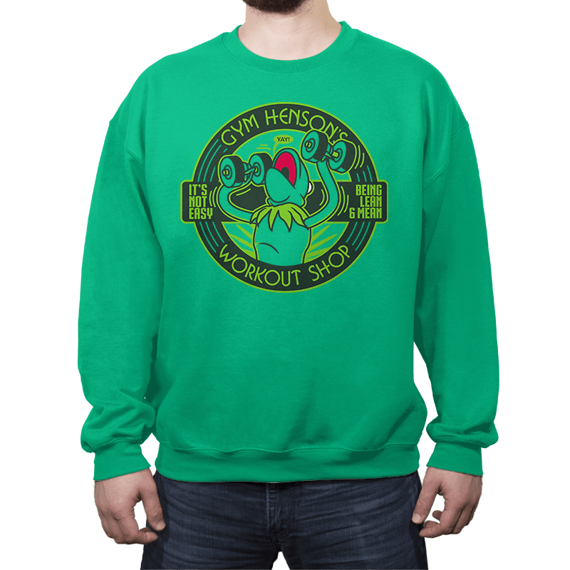 Gym Henson's Workout Shop - Crew Neck - Crew Neck - RIPT Apparel