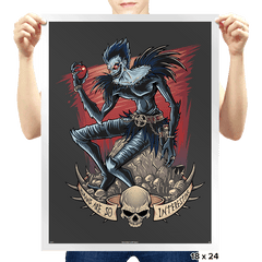 Death and Apples - Prints - Posters - RIPT Apparel