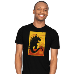 GOJIRA NOIR - Mens - T-Shirts - RIPT Apparel