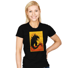 GOJIRA NOIR - Womens - T-Shirts - RIPT Apparel