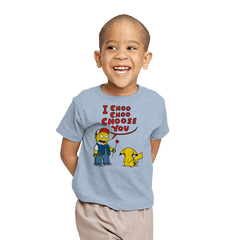 I Choo Choo Choose you - Youth - T-Shirts - RIPT Apparel