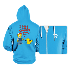 I Choo Choo Choose you - Hoodies - Hoodies - RIPT Apparel