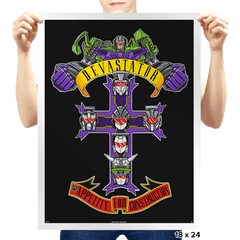 Appetite For Construction - Prints - Posters - RIPT Apparel