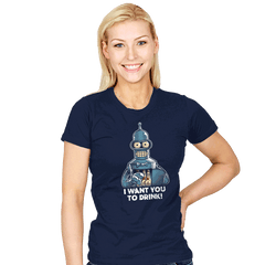 BartENDER - Womens - T-Shirts - RIPT Apparel