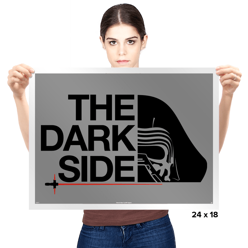 North of the Darker Side - Prints - Posters - RIPT Apparel