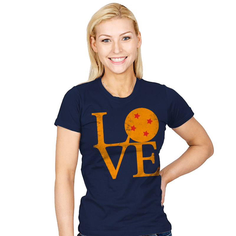 Dragon Love - Womens - T-Shirts - RIPT Apparel