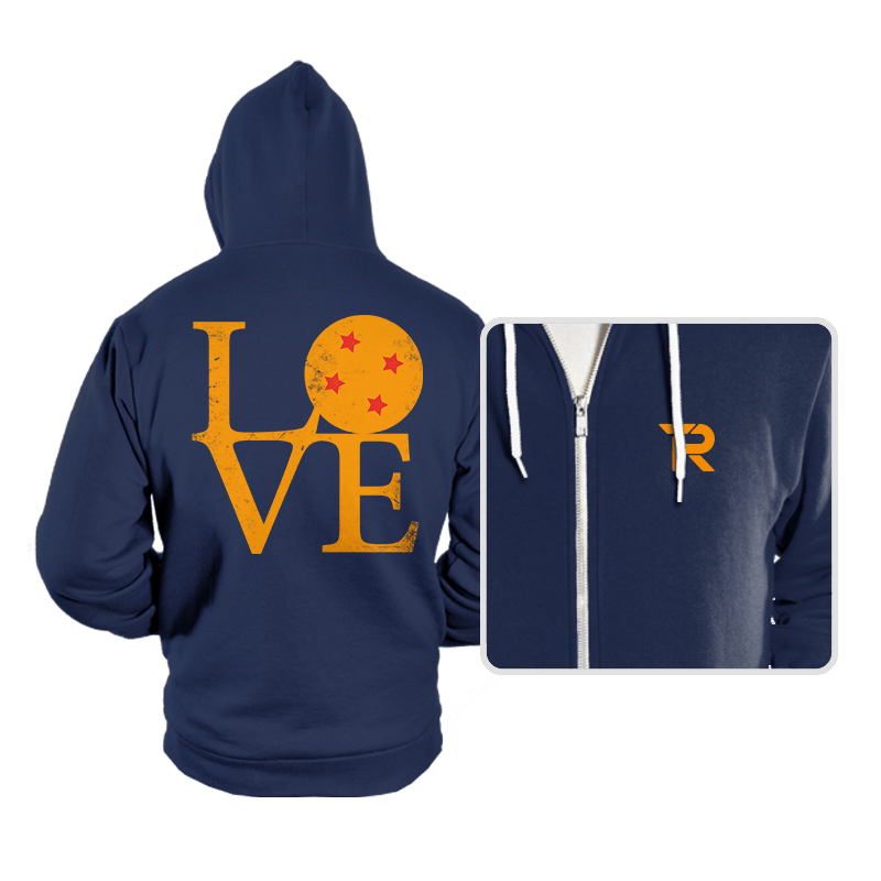 Dragon Love - Hoodies - Hoodies - RIPT Apparel