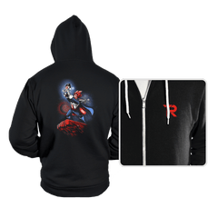 The Saiyan King - Hoodies - Hoodies - RIPT Apparel