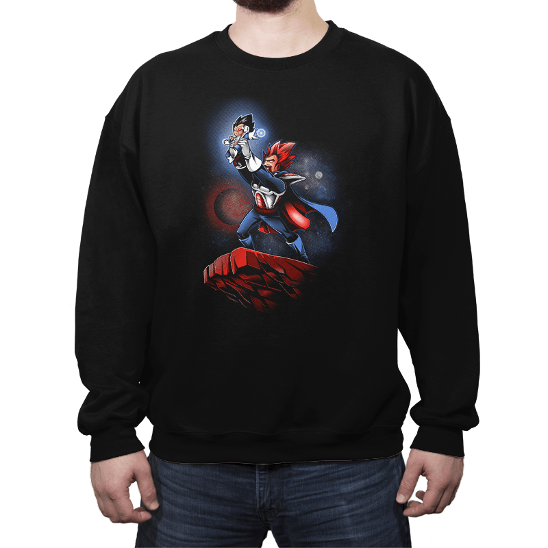 The Saiyan King - Crew Neck - Crew Neck - RIPT Apparel