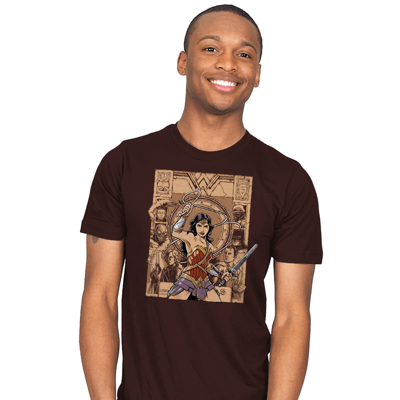 Raider of the Lost Amazon - Mens - T-Shirts - RIPT Apparel