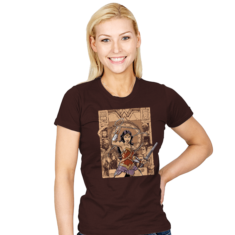 Raider of the Lost Amazon - Womens - T-Shirts - RIPT Apparel