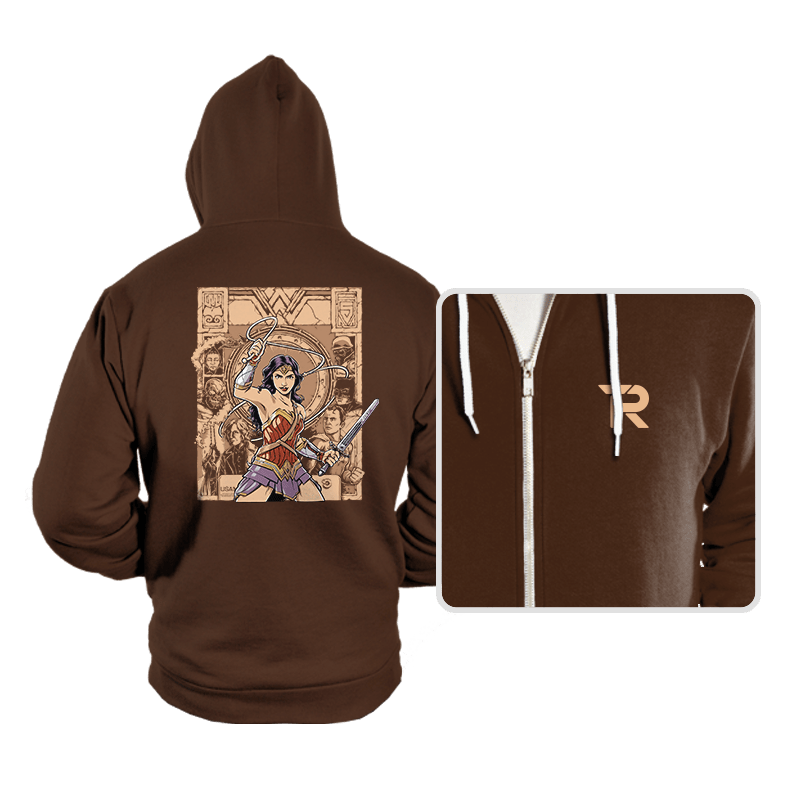 Raider of the Lost Amazon - Hoodies - Hoodies - RIPT Apparel