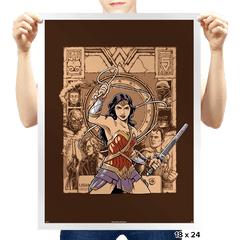 Raider of the Lost Amazon - Prints - Posters - RIPT Apparel