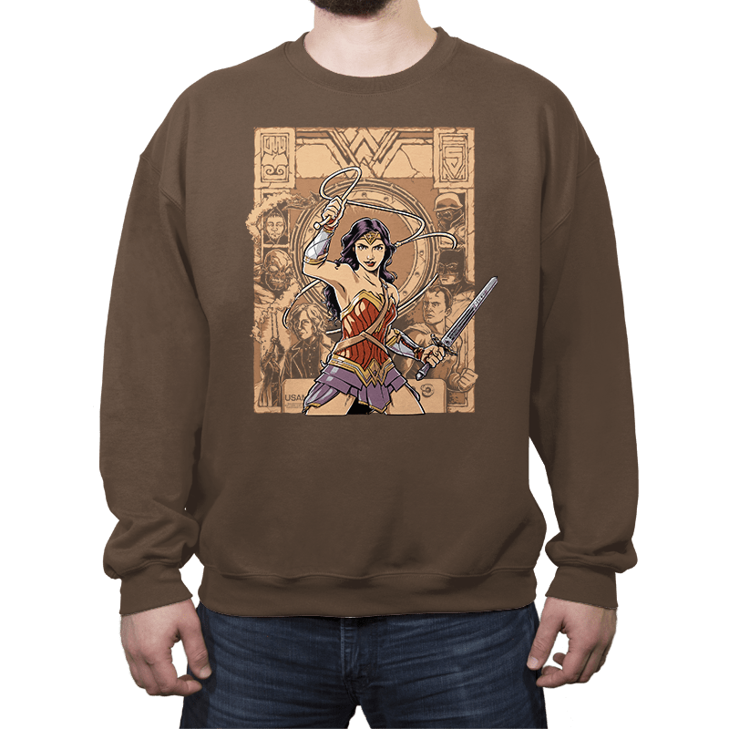 Raider of the Lost Amazon - Crew Neck - Crew Neck - RIPT Apparel