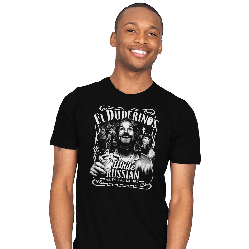 Duderino White Russian - Mens - T-Shirts - RIPT Apparel