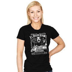 Duderino White Russian - Womens - T-Shirts - RIPT Apparel