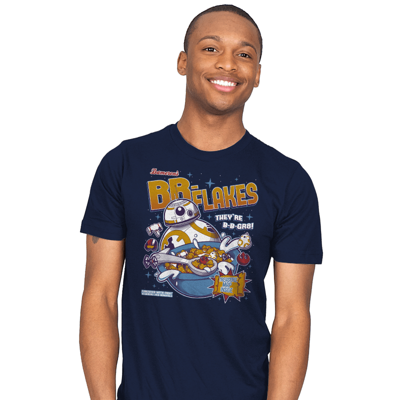 BB-Flakes - Mens - T-Shirts - RIPT Apparel