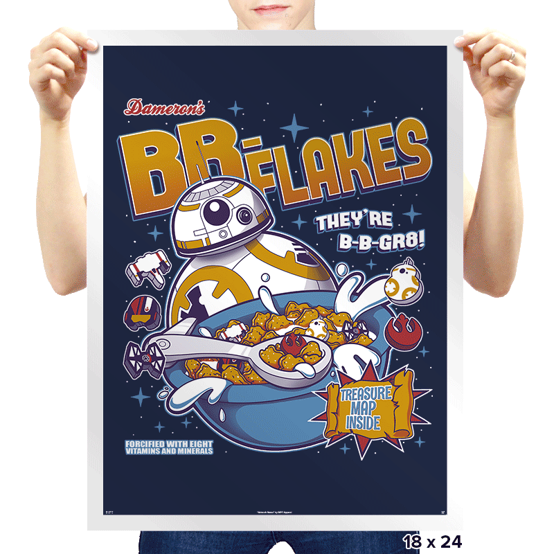 BB-Flakes - Prints - Posters - RIPT Apparel