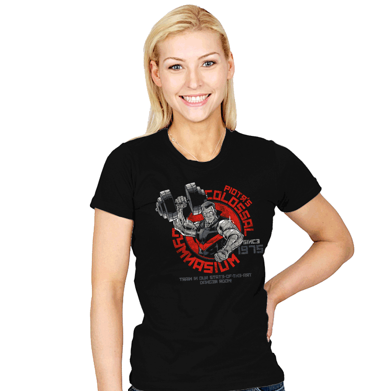 Colossal Gym - Womens - T-Shirts - RIPT Apparel