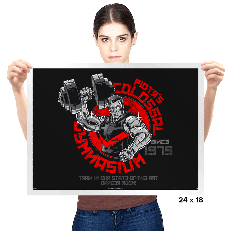 Colossal Gym - Prints - Posters - RIPT Apparel