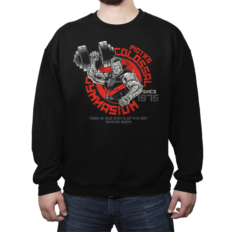 Colossal Gym - Crew Neck - Crew Neck - RIPT Apparel
