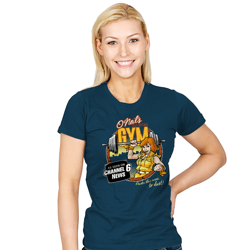 O'Neil's Self Defense Gym - Womens - T-Shirts - RIPT Apparel