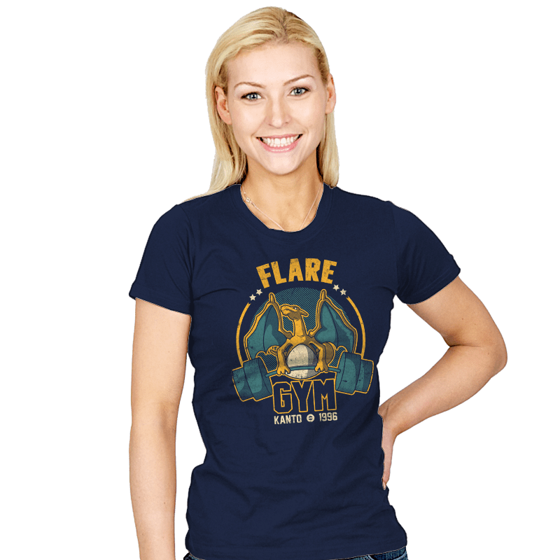 Flare Gym - Womens - T-Shirts - RIPT Apparel