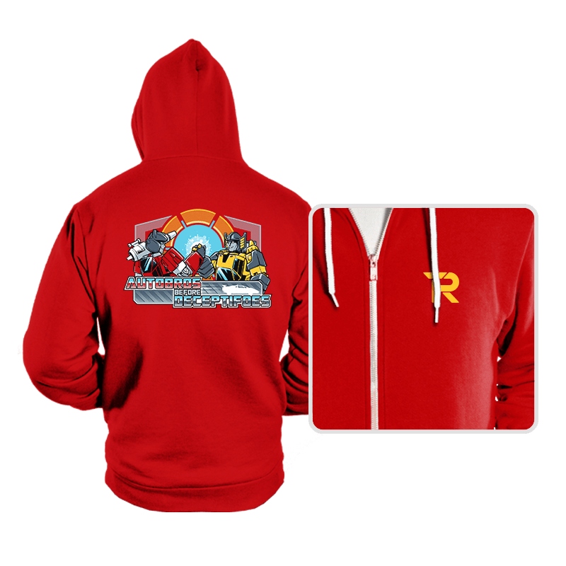 Autobros Before Deceptifoes - Hoodies - Hoodies - RIPT Apparel