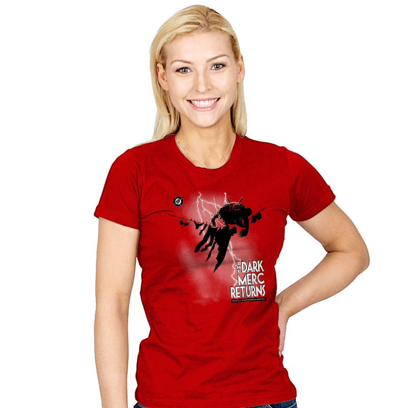 The Dark Merc Returns - Womens - T-Shirts - RIPT Apparel