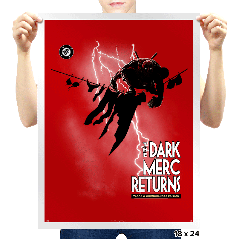 The Dark Merc Returns - Prints - Posters - RIPT Apparel