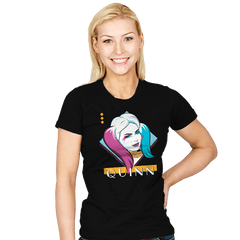 Eighties Quinn - Womens - T-Shirts - RIPT Apparel