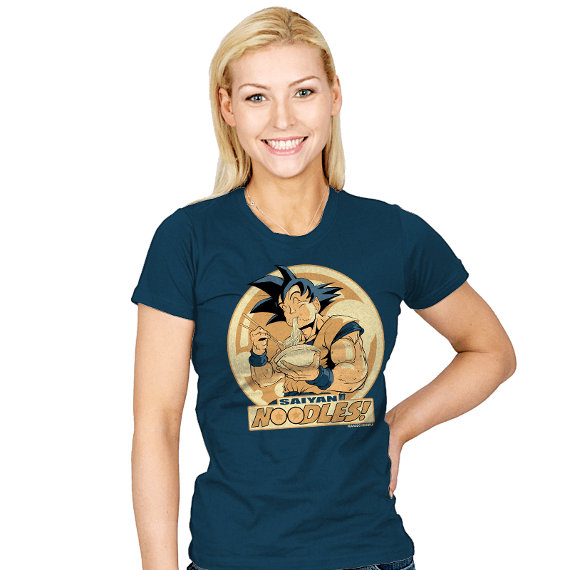 Saiyan Noodles - Womens - T-Shirts - RIPT Apparel