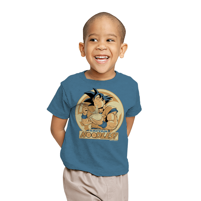 Saiyan Noodles - Youth - T-Shirts - RIPT Apparel