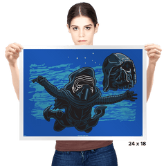 Nevermind The Light Side - Prints - Posters - RIPT Apparel