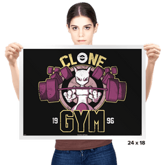 Clone Gym - Prints - Posters - RIPT Apparel