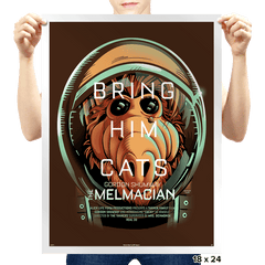 The Melmacian - Prints - Posters - RIPT Apparel