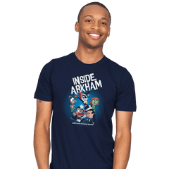Inside Arkham - Mens - T-Shirts - RIPT Apparel