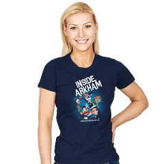 Inside Arkham - Womens - T-Shirts - RIPT Apparel