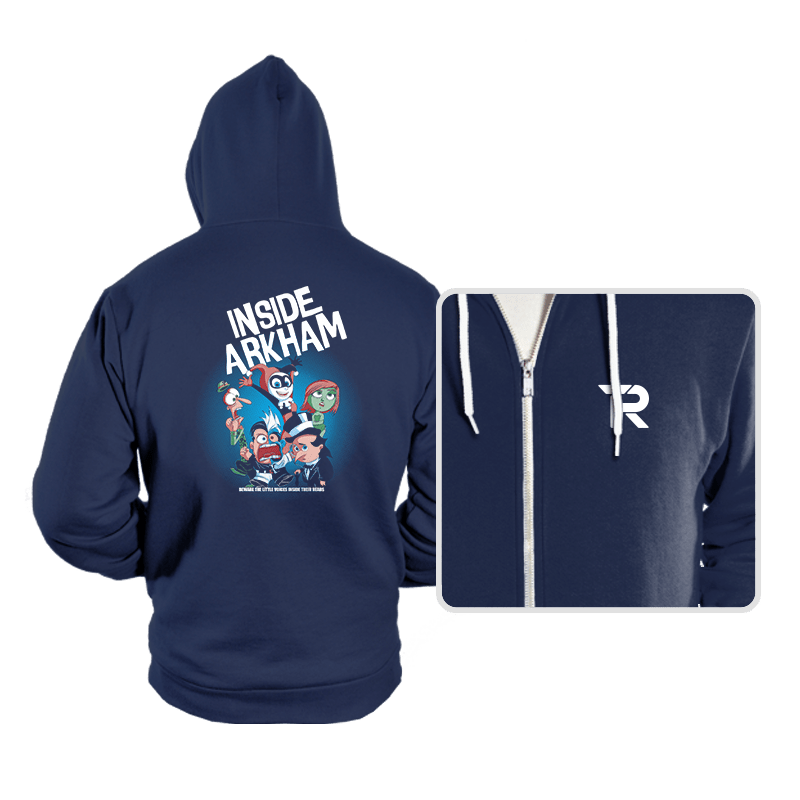 Inside Arkham - Hoodies - Hoodies - RIPT Apparel