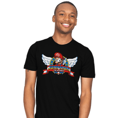 Jumpman the Plumber - Mens - T-Shirts - RIPT Apparel