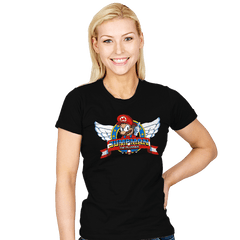 Jumpman the Plumber - Womens - T-Shirts - RIPT Apparel