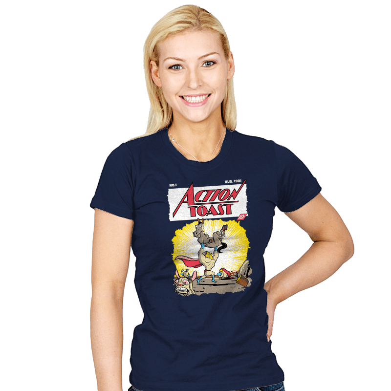 Action Toast - Womens - T-Shirts - RIPT Apparel