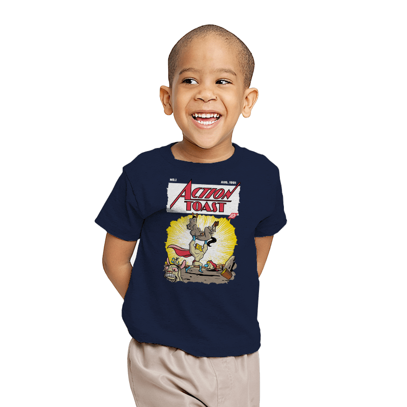Action Toast - Youth - T-Shirts - RIPT Apparel